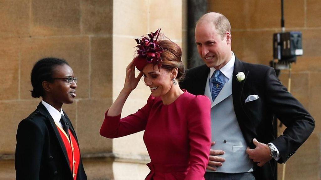 Kate Middleton Mencuri Atensi dengan Gaun Pink di Pernikahan Putri Eugenie