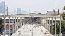 Skybridge Segera Rampung, Walkot Ingin Jalan Jatibaru Tn Abang Dibuka