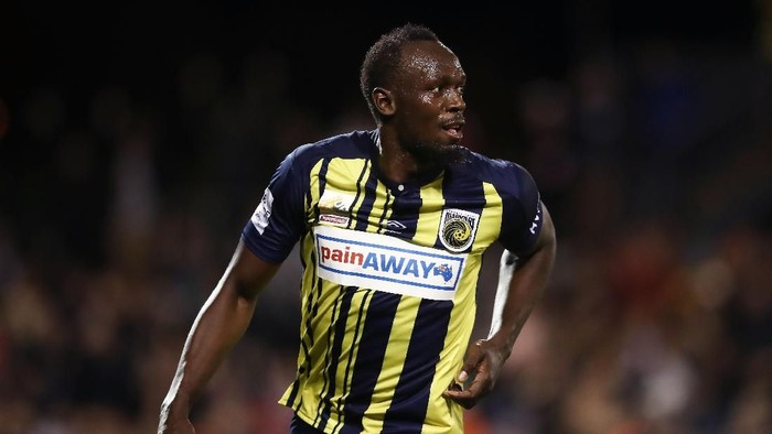 Jika tampil di game FIFA 19, Usain Bolt akan punya lari paling kencang (Foto: Matt King/Getty Images)