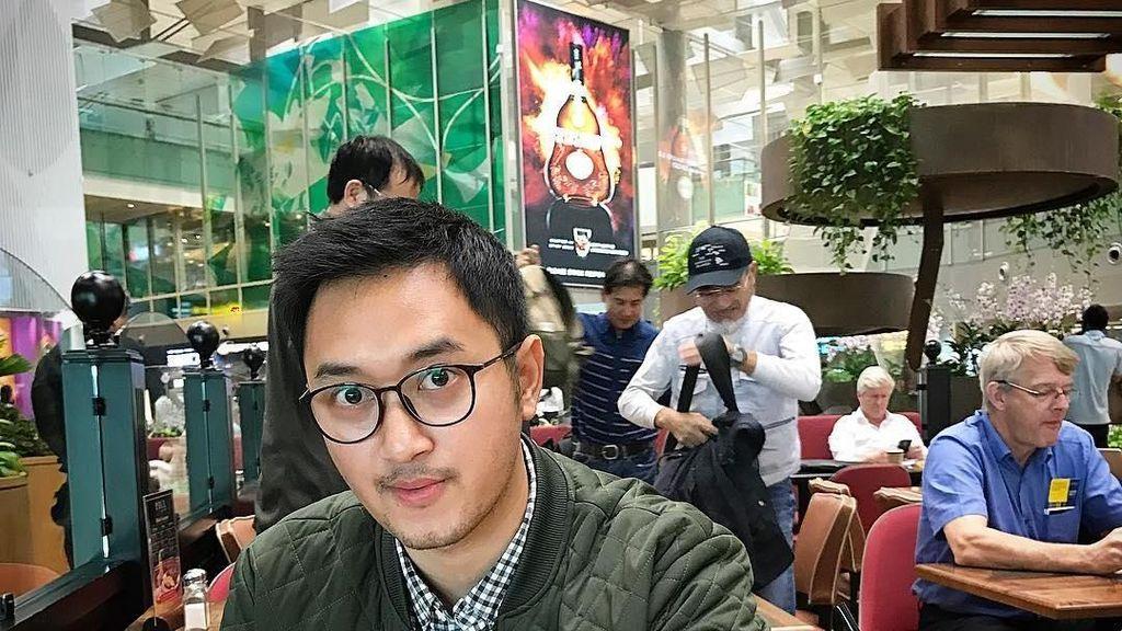 Intip Momen Kulineran Pilot Ganteng Haydar Pratama, Apa Makanan Favoritnya?