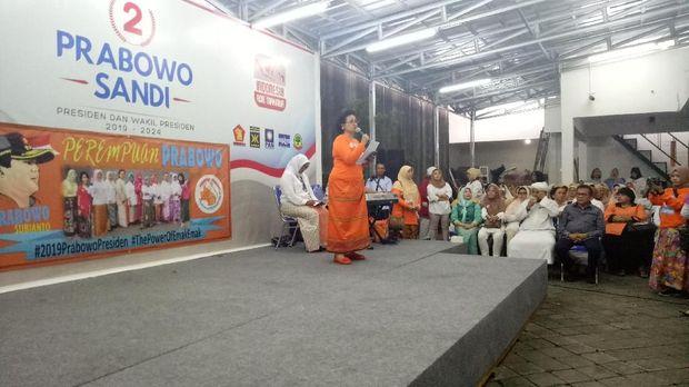Deklarasi Dukung Prabowo-Sandi, 'Perempuan Prabowo' Minta Ini