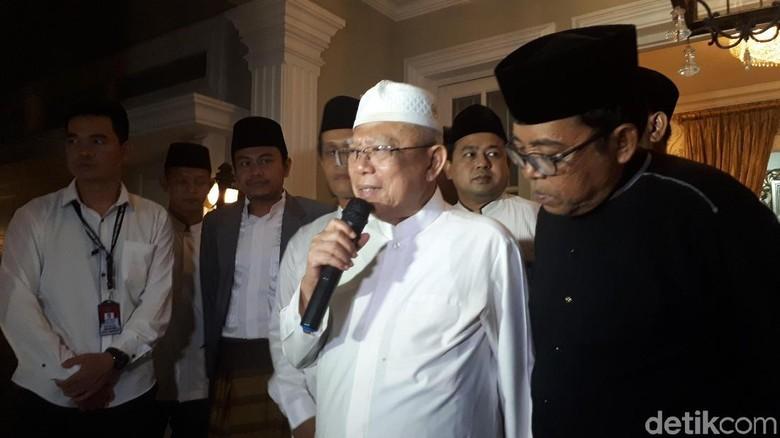Bertemu Maruf Amin, Pengurus NU DKI Berikan Dukungan di Pilpres