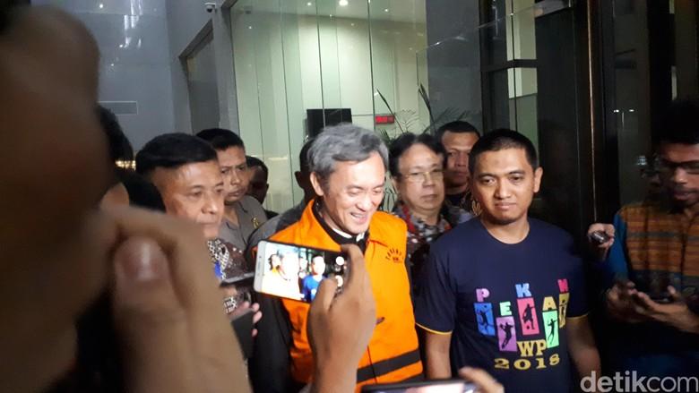 Ditahan KPK, Eddy Sindoro: Saya Siap Jalani Proses Hukum