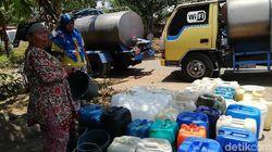 199 Desa di Jatim Kekeringan, Gubernur Soekarwo Siapkan Tangki Air