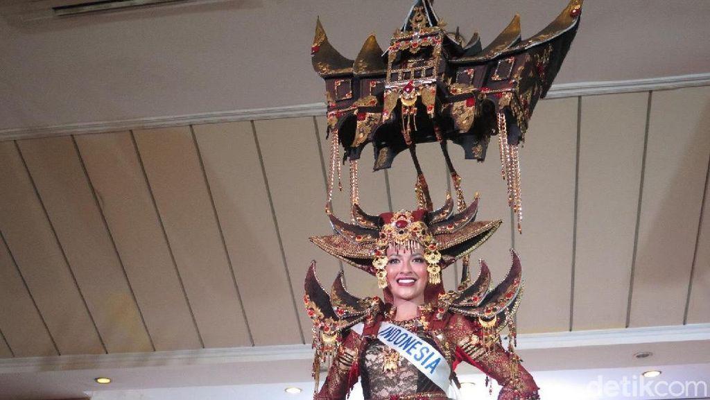 Wakili Indonesia, Vania Herlambang Masuk 15 Besar Miss International 2018