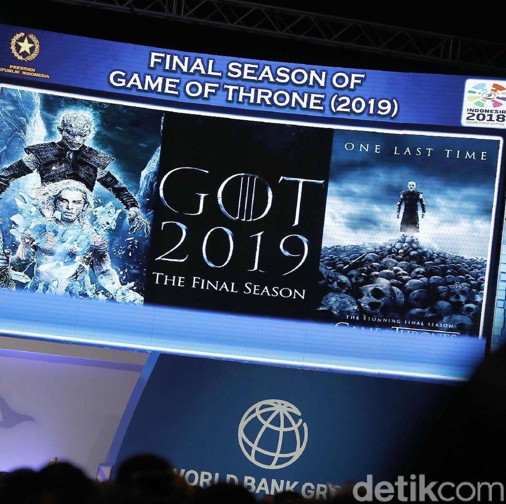 Akhir Musim Terakhir Game of Thrones Menurut Jokowi