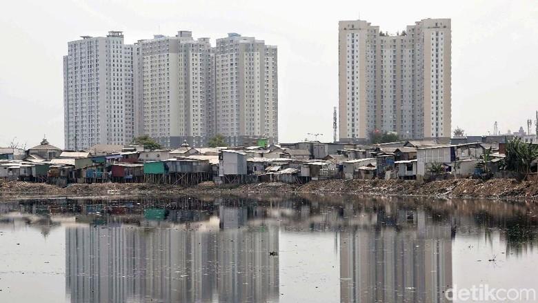Kondisi Waduk Pluit Jelang Setahun Pemerintahan Anies