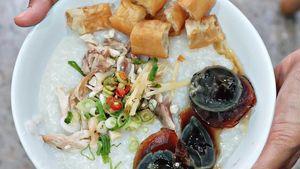 Gurih Lembut Bubur Oriental di 5 Tempat Makan Ini
