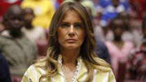 Melania Sangkal Kabar Pernikahannya dengan Trump Retak