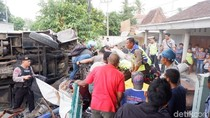 7 Jenazah Korban Laka Bus Wisata di Boyolali Sudah Dipulangkan