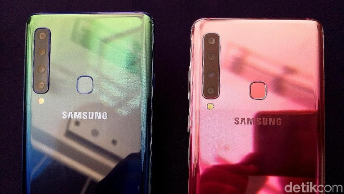 Galaxy A9, Gebrakan 4 Kamera Belakang Sapujagat