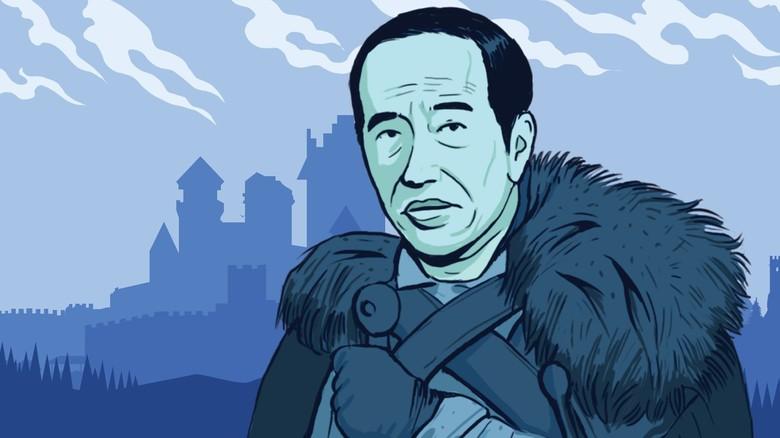 Game Of Thrones Jadi 'Serangan Balik' Jokowi ke Prabowo