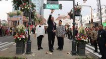 Kisah Palestine Walk di Kawasan Alun-alun Bandung