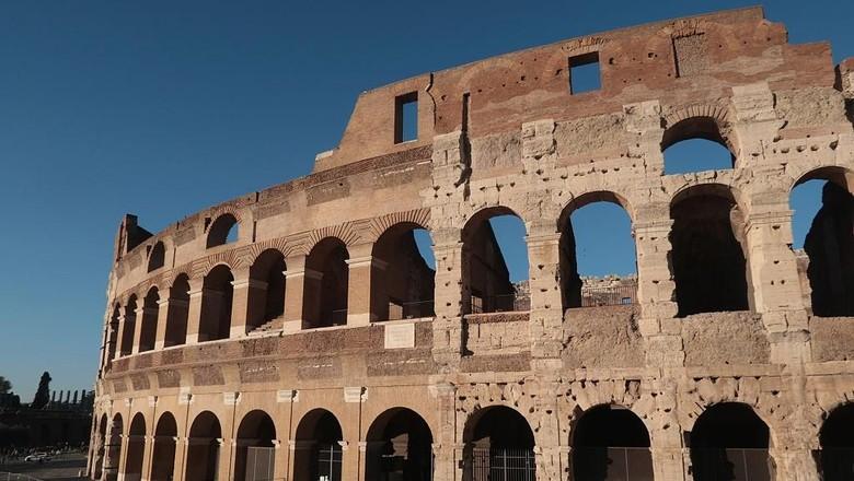 Ilustrasi Colosseum Roma (Sean Gallup/Getty Images)