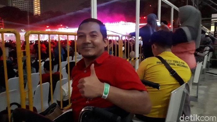 Penutupan Asian Para Games 2018. (Foto: Mercy Raya/Detikcom)