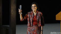 Sri Mulyani Dilaporkan soal Pose 1 Jari, Kemenkeu: Itu Bukan Kampanye