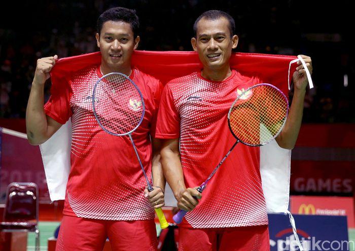 Bulutangkis kembali menambah perolehan medali emas Indonesia di ajang Asian Para Games 2018.