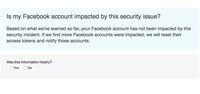 Ini Cara Cek Apa Akun Facebook-mu Terdampak Kasus Hack