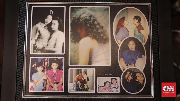 Berbagai koleksi foto lawas Melly Goeslaw.