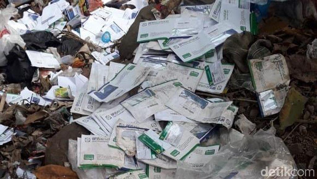 KIS yang Dibuang di Tempat Sampah Milik Warga 8 Desa di Pandeglang
