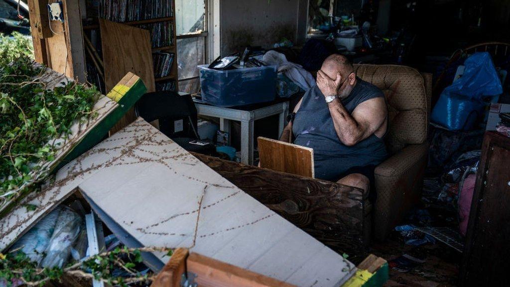 Badai Michael yang Terjang AS Bagai Induk dari Segala Bom