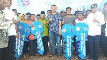 Ke Lombok, Menhub Tinjau Pembangunan Huntara untuk Korban Gempa