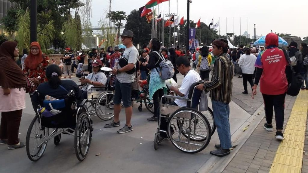 Penonton Antusias Sambut Penutupan juga Berat Berpisah dari Asian Para Games