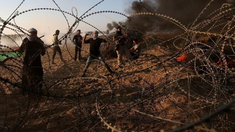 7 Warga Palestina Tewas Ditembak Tentara Israel di Perbatasan Gaza