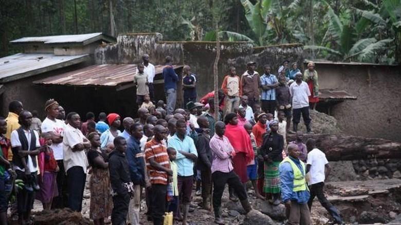 Longsor Terjang Timur Uganda, 41 Orang Tewas