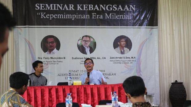 Hasil gambar untuk Seminar Sudirman Said Digelar di Restoran