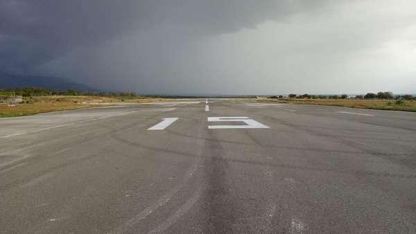 Runway Bandara Palu Diperbaiki Pasca Gempa, Ini Penampakannya