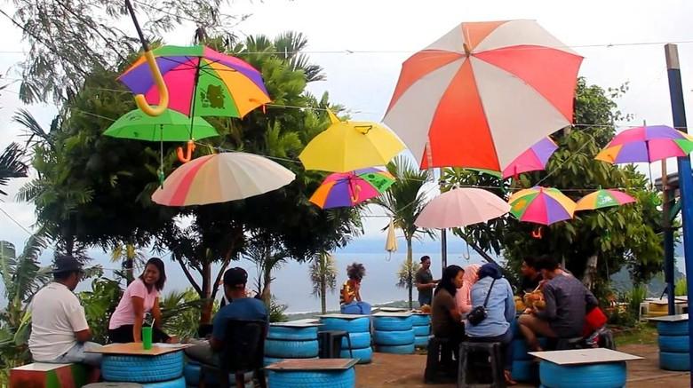 Penampakan Cafe Payung Jayapura (Istimewa/Rio Irwansyah)