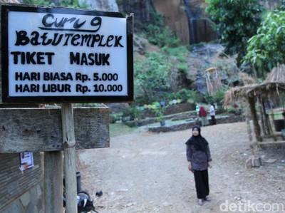 Cantiknya Tebing Alami di Kawasan Bandung Utara