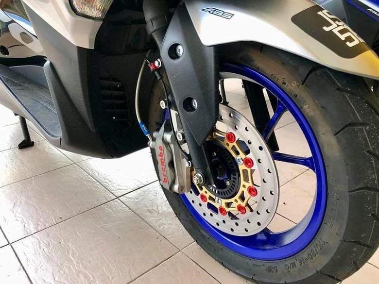 Rem Brembo di Yamaha Aerox 155. Foto: Dok. RSMS
