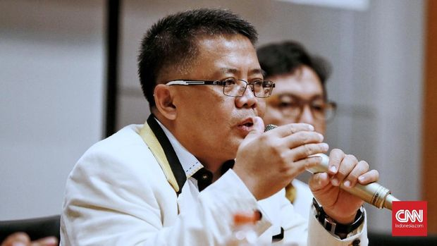 Salah satu tergugat dalam kasus pemecatan Fahri Hamzah dari PKS yang juga menjabat Presiden PKS Sohibul Iman.