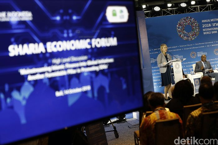 Pemerintah memaparkan pengalaman Indonesia dalam mengoptimalkan peran instrumen keuangan syariah.