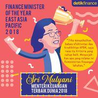 Deretan Penghargaan yang Diterima Sri Mulyani Sejak jadi menteri Jokowi