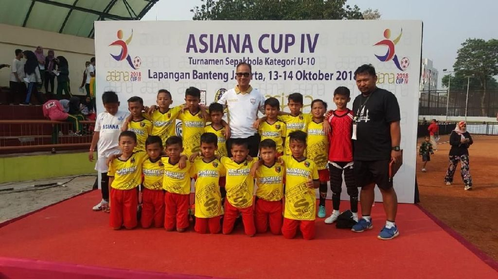 Turnamen Asiana Cup Disaksikan Mensos Agus Gumiwang