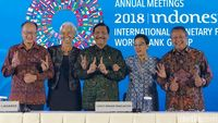 Luhut Buka-bukaan soal Pose 1 Jari di Penutupan IMF-WB Bali