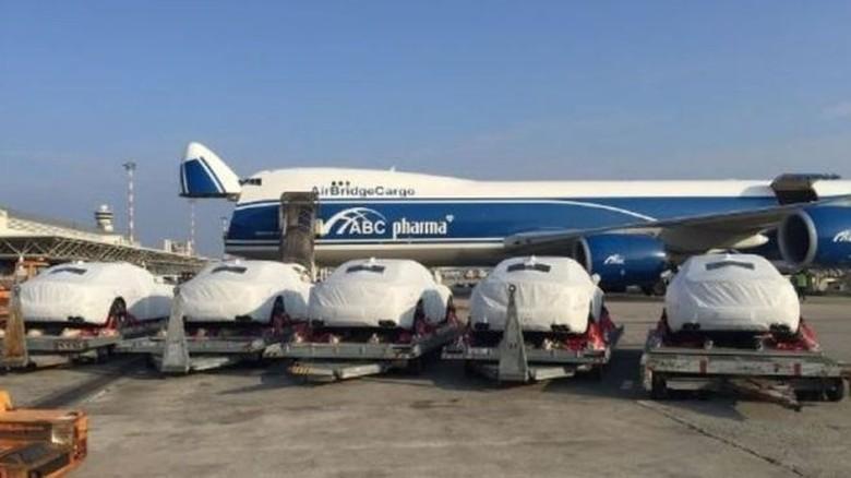 Papua Nugini Impor 40 Mobil Mewah untuk KTT APEC. Foto: AIRBRIDGECARGO