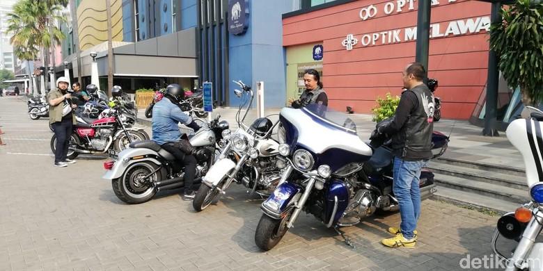 Komunitass Dokter Pengguna Motor Gede. Foto: Rizki Pratama