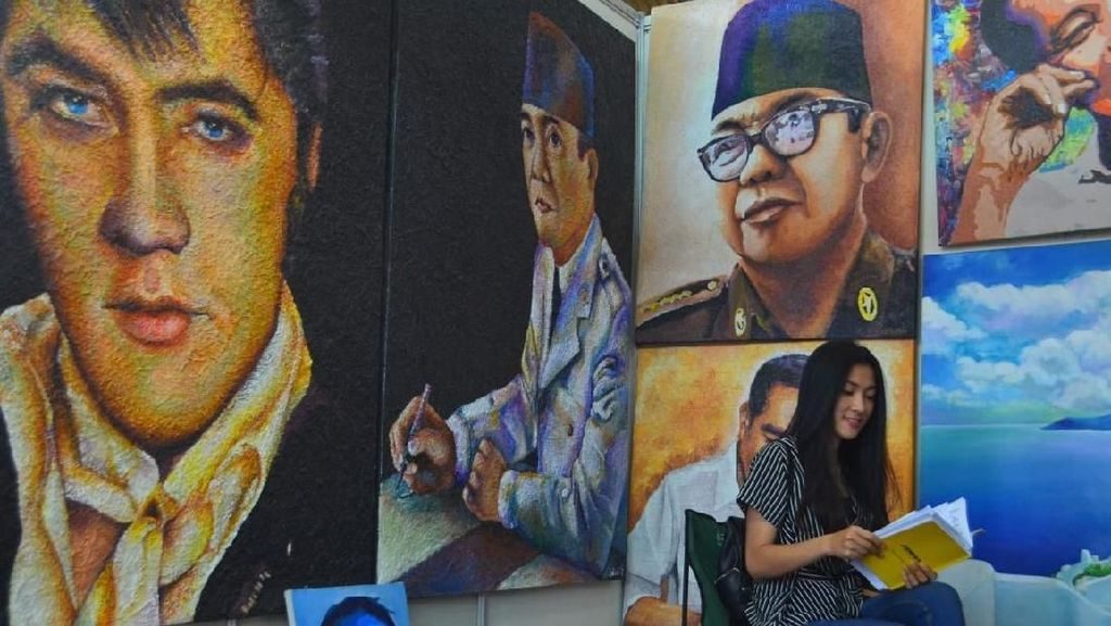 Datang Yuk! Lagi Ada Pasar Seni Lukis di Surabaya