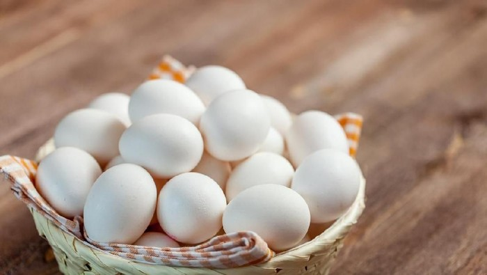 Telur merupakan menu favorit untuk sarapan (Foto: Istock)