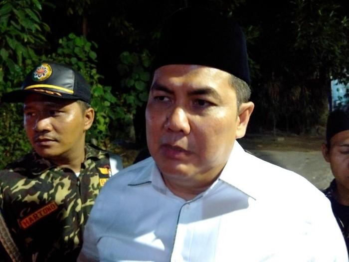 Sekjen Pengurus Besar Nahdlatul Ulama (PBNU) Helmy Faishal Zaini, Yogyakarta, Sabtu (14/10/2018).