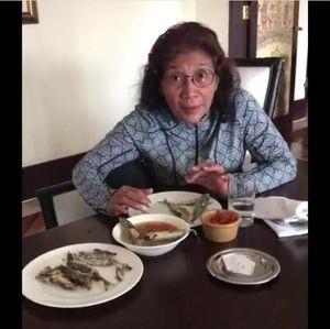 Video: Susi Marah Sandi Kampanye akan Permudah Izin Tangkap Ikan