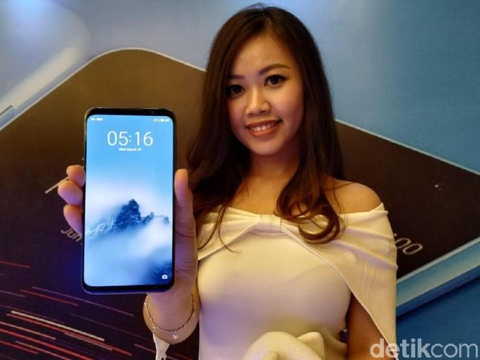 Salah satu smartphone Meizu. Foto: detikINET/Agus Tri Haryanto