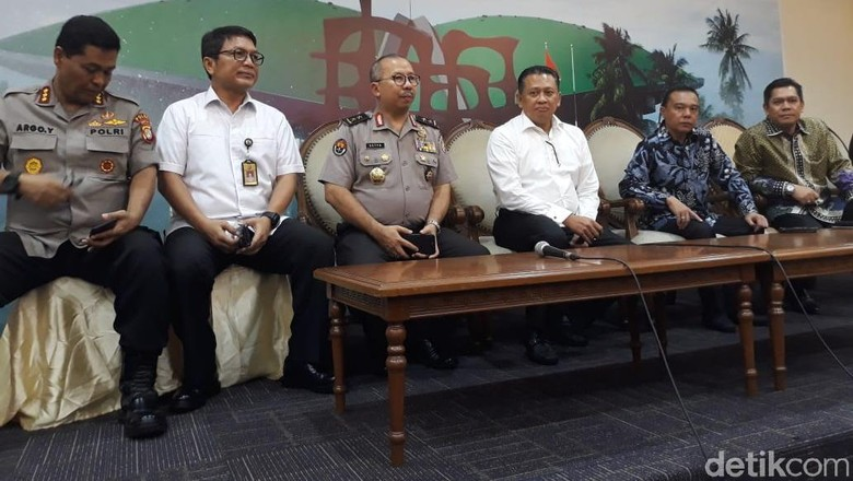 Bamsoet: Sudah 3 Kali Peluru Nyasar ke Gedung DPR