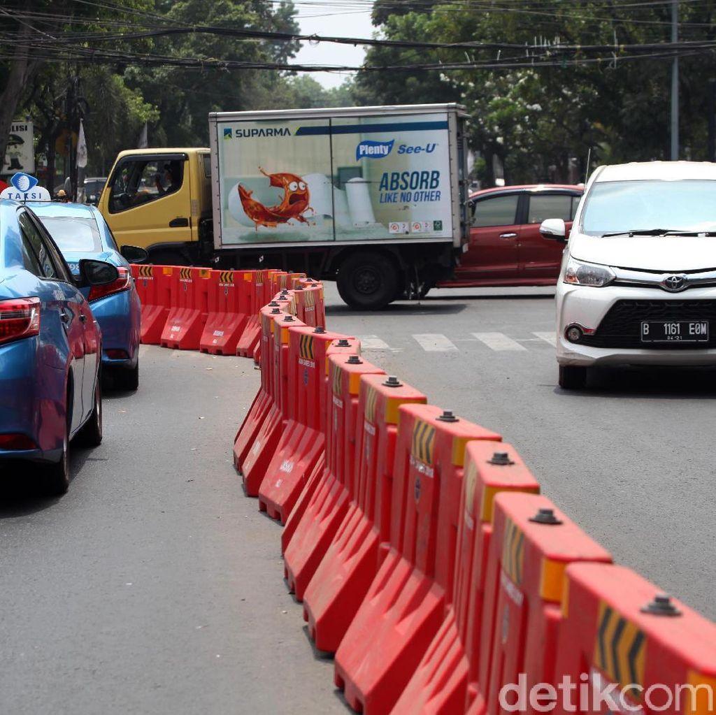 Pemprov DKI Terapkan Jalan Wahid Hasyim Satu Arah Permanen