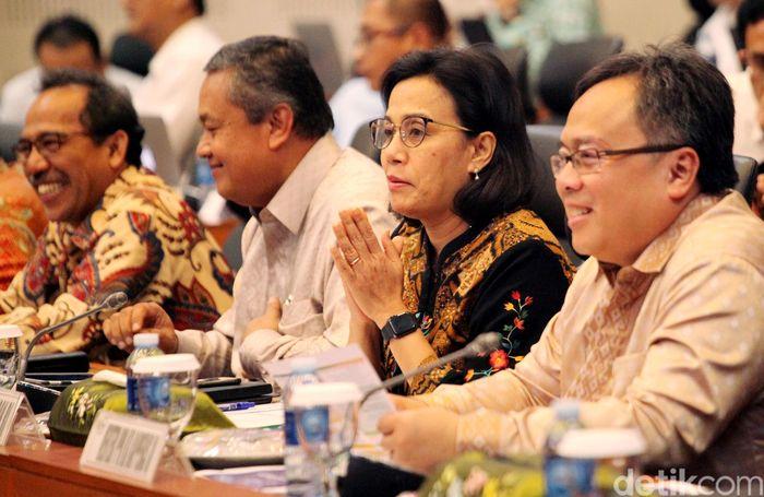 Badan Anggaran (Banggar) DPR menggelar rapat kerja dengan pemerintah, membahas Rancangan Undang-Undang (RUU) tentang Anggaran Pendapatan dan Belanja Negara (APBN) Tahun anggaran 2019.