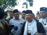 Maruf Amin Pimpin Doa untuk Korban Gempa NTB-Sulteng